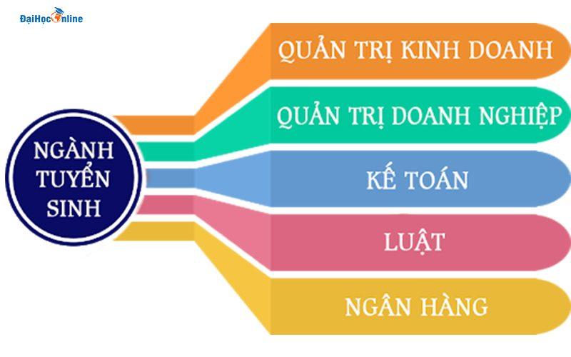 Chuyên ngành đào tạo Đại học từ xa Kinh tế quốc dân
