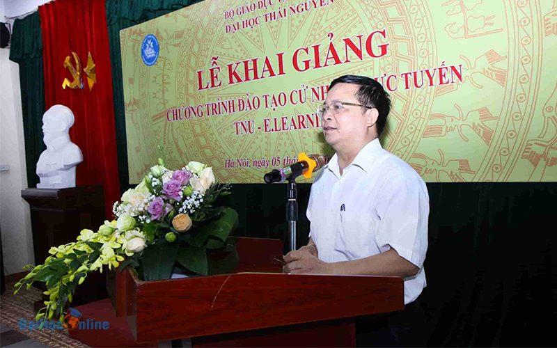 Buoi Le Khai Giang Chuong Trinh Dao Tao Cu Nhan Truc Tuyen Dai Hoc Thai Nguyen O Ha Noi 1