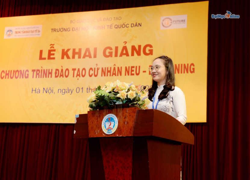 Lễ Khai Giảng Chương trình đào tạo trực tuyến Đại học Kinh tế quốc dân đợt 8 năm 2020