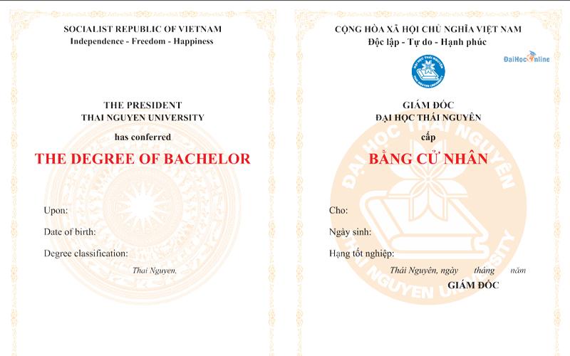 Ngành ngôn ngữ Anh Đại học Thái Nguyên