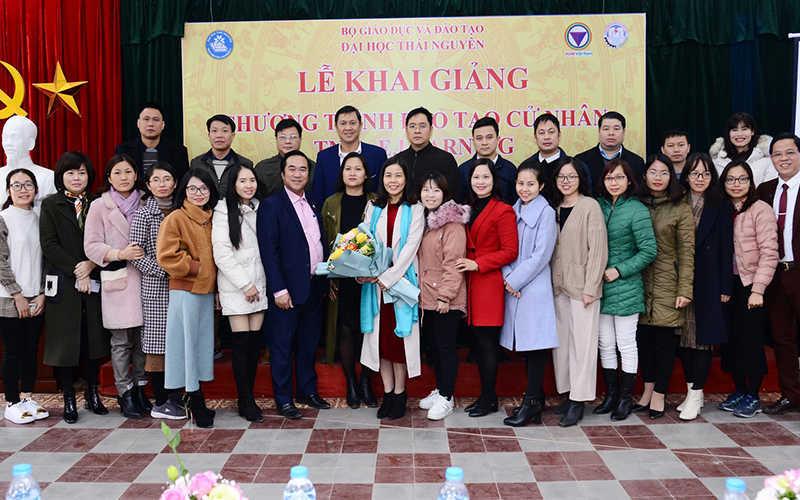 Lễ khai giảng chương trình đào tạo trực tuyến Đại học Thái Nguyên 20/12/2020