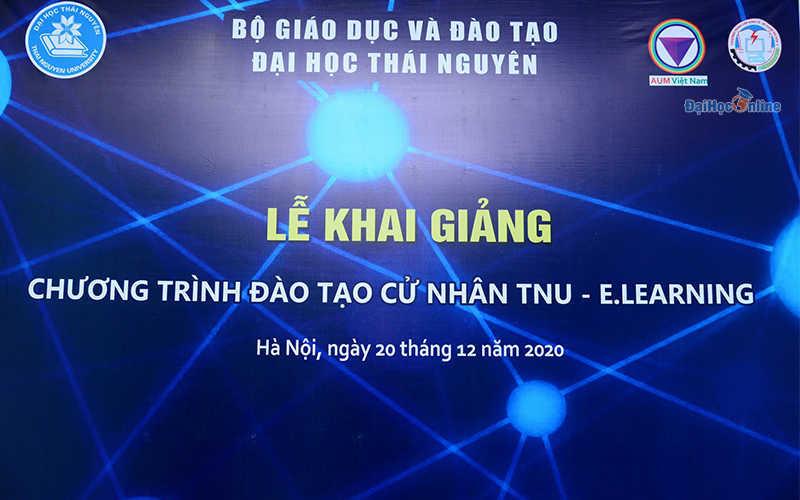 Khai giảng Elearning Đại học Thái Nguyên