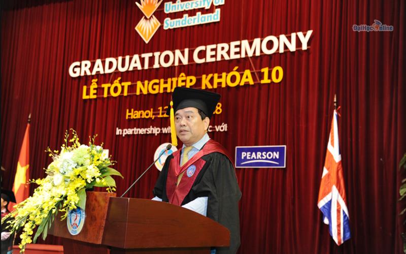 Lễ tốt nghiệp khóa 10 - Chương trình Cử nhân Quốc tế IBD ngành Quản trị Kinh doanh